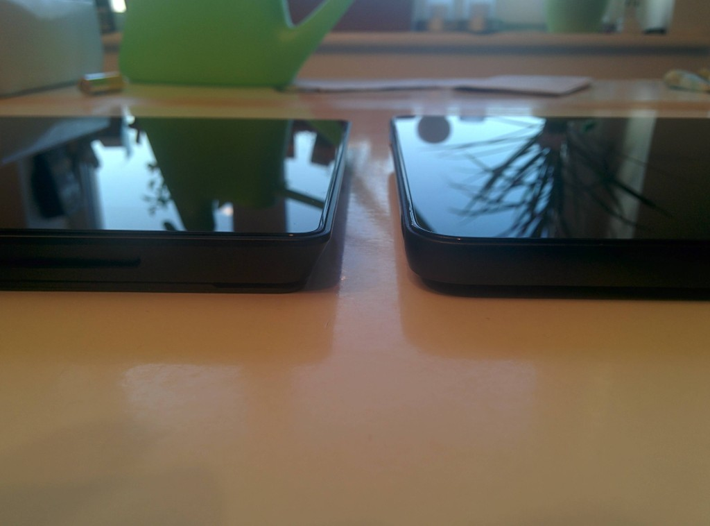 Surface Pro 2 on the left Venue 11 Pro on the right